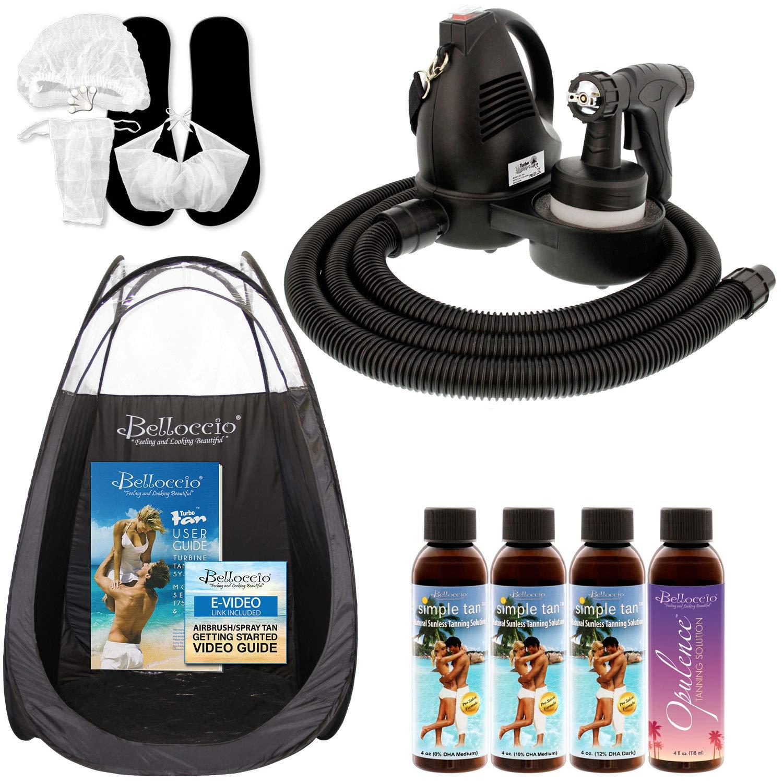Belloccio Premium T75 Sunless – best hvlp spray tan machine