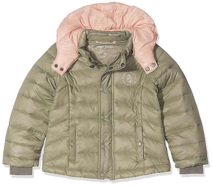 Pepe Jeans Jana JR PG400584, Abrigo para Niñas, Verde (Army 716), 5 años: Amazon.es: Ropa y accesorios