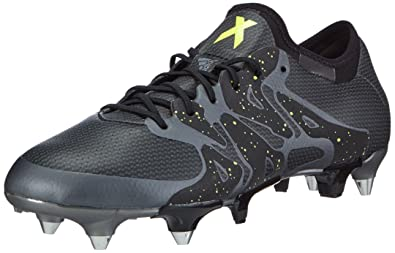 babf303a5a08 adidas X 15.1 Soft Ground, Men's Football Boots, Black (Core Black/Solar
