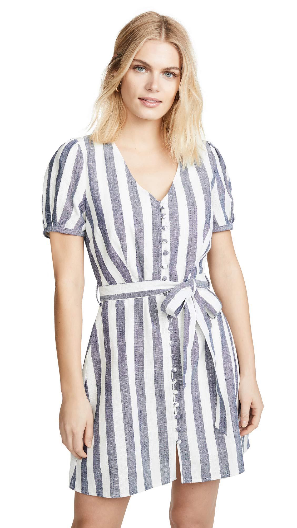 J.O.A. Women's Striped Mini Dress