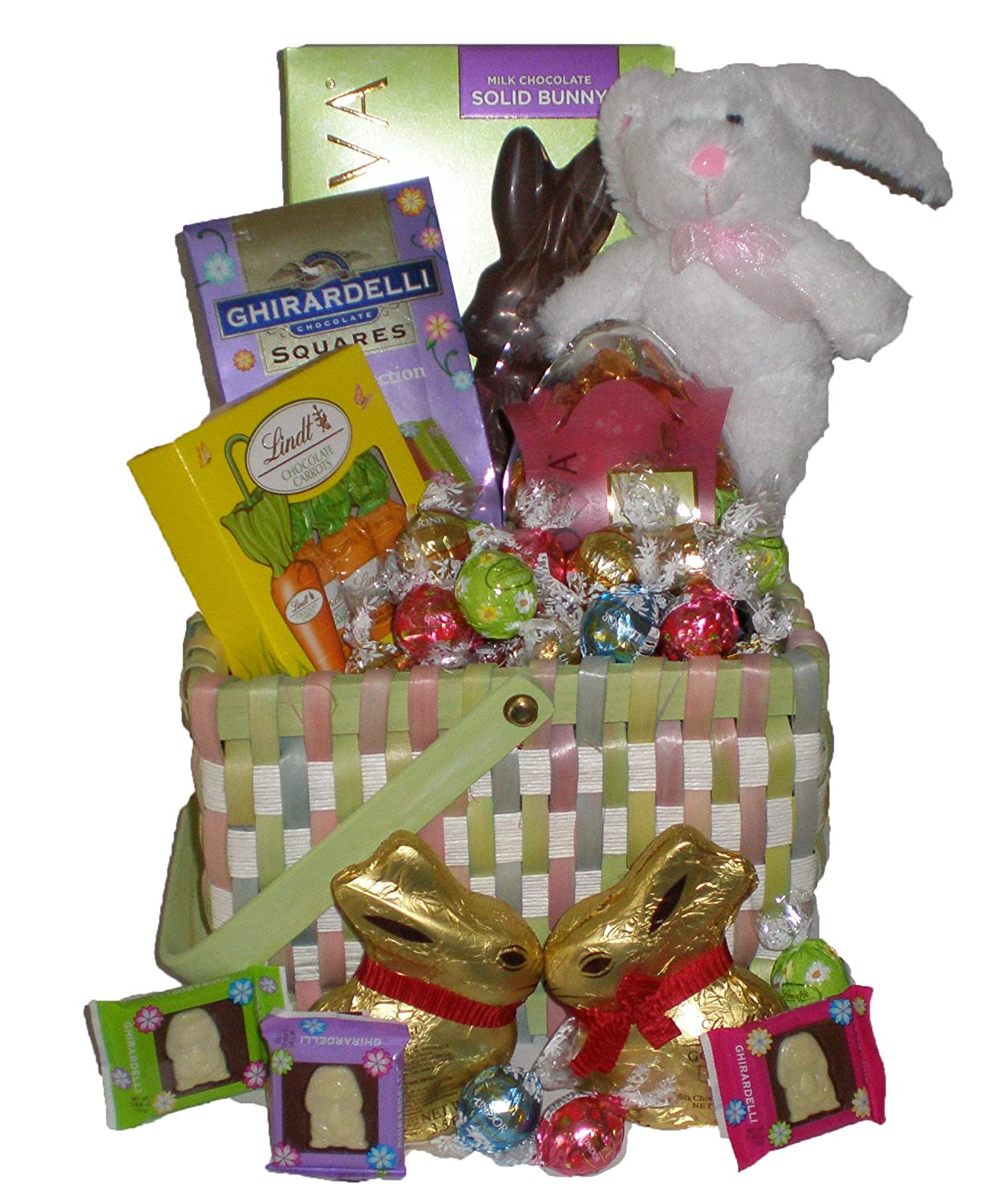 Amazon godiva ghirardelli lindt deluxe easter basket amazon godiva ghirardelli lindt deluxe easter basket gourmet chocolate gifts grocery gourmet food negle Gallery