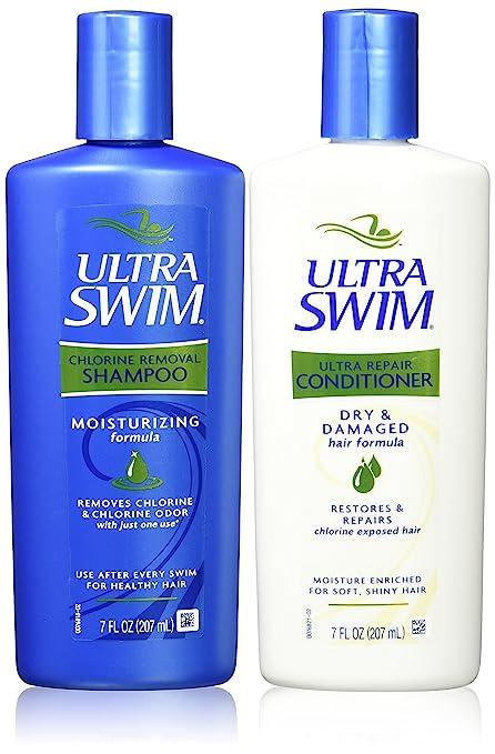 UltraSwim Dynamic Duo Repair Shampoo and Conditioner.