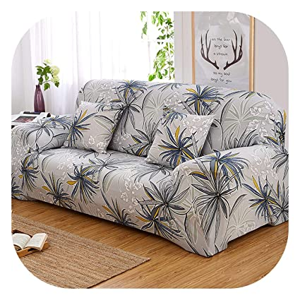 Outstanding Amazon Com Lonely Store Green Leaves Sofa Cover Printed Gmtry Best Dining Table And Chair Ideas Images Gmtryco
