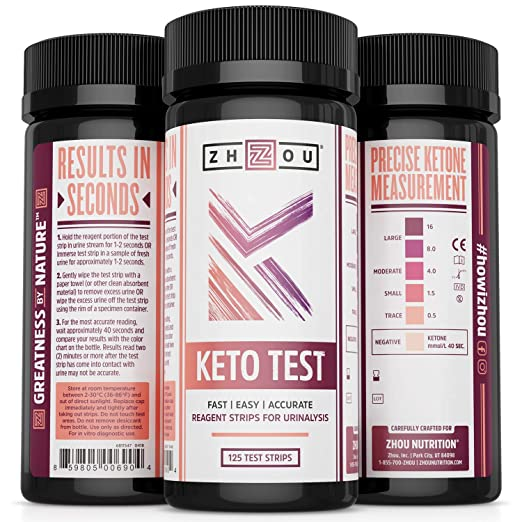 Image result for zhou keto test strips