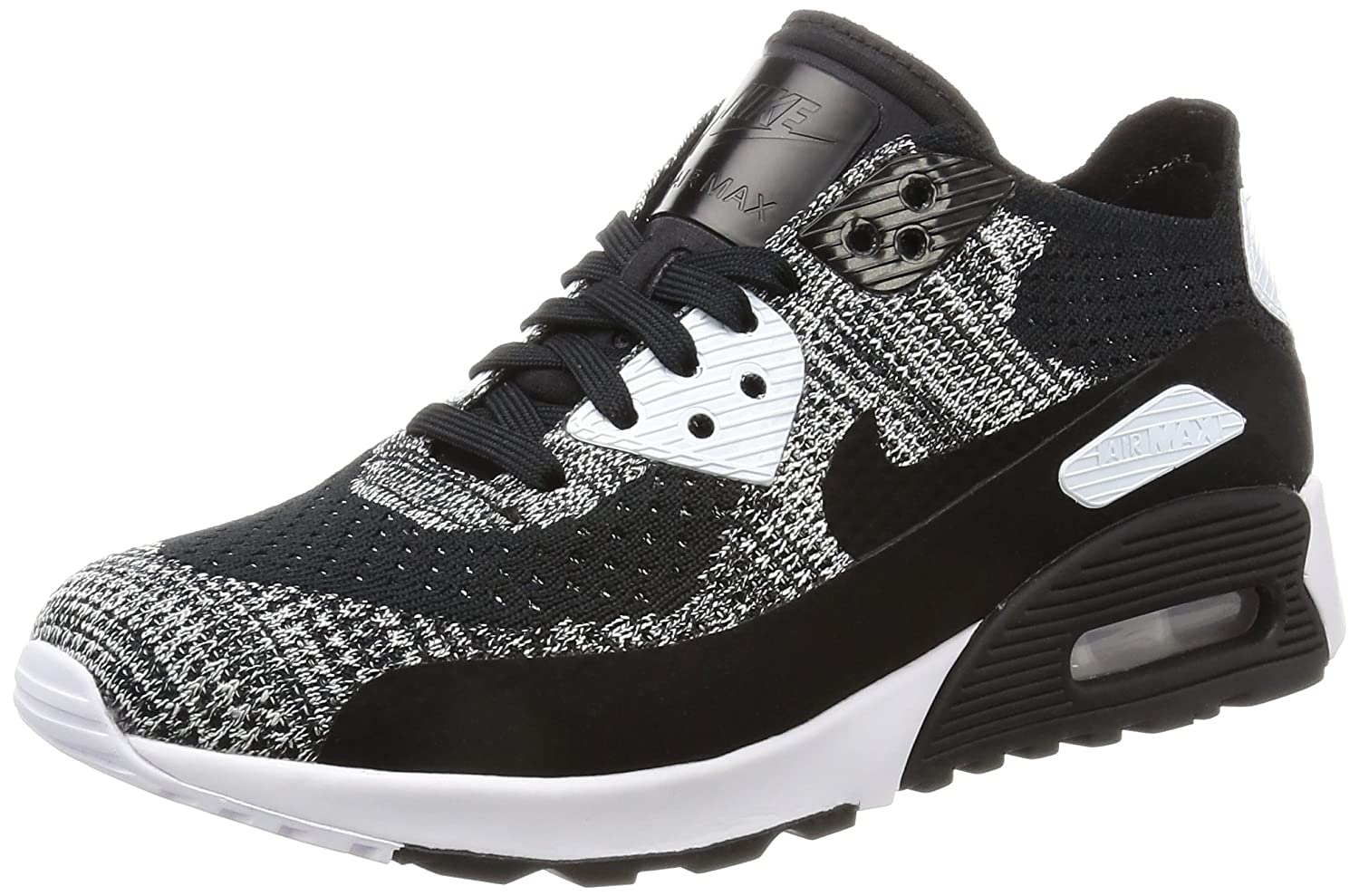 NIKE Women's Air Max 90 Ultra 2.0 Flyknit Casual Shoe B06XWP5N3Y 9 B(M) US|Black / White-anthracite