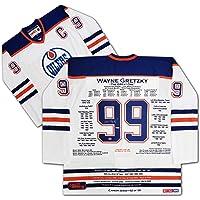 $4320 » Wayne Gretzky White Career Jersey UDA - Signed LTD /99 - Edmonton Oilers