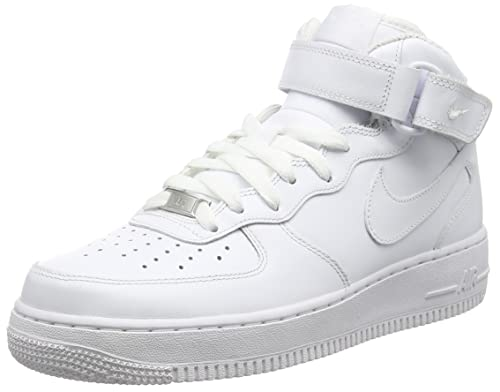 34572c3cb47d4 Nike Women's WMNS Air Force 1 Mid '07 Le Trainers