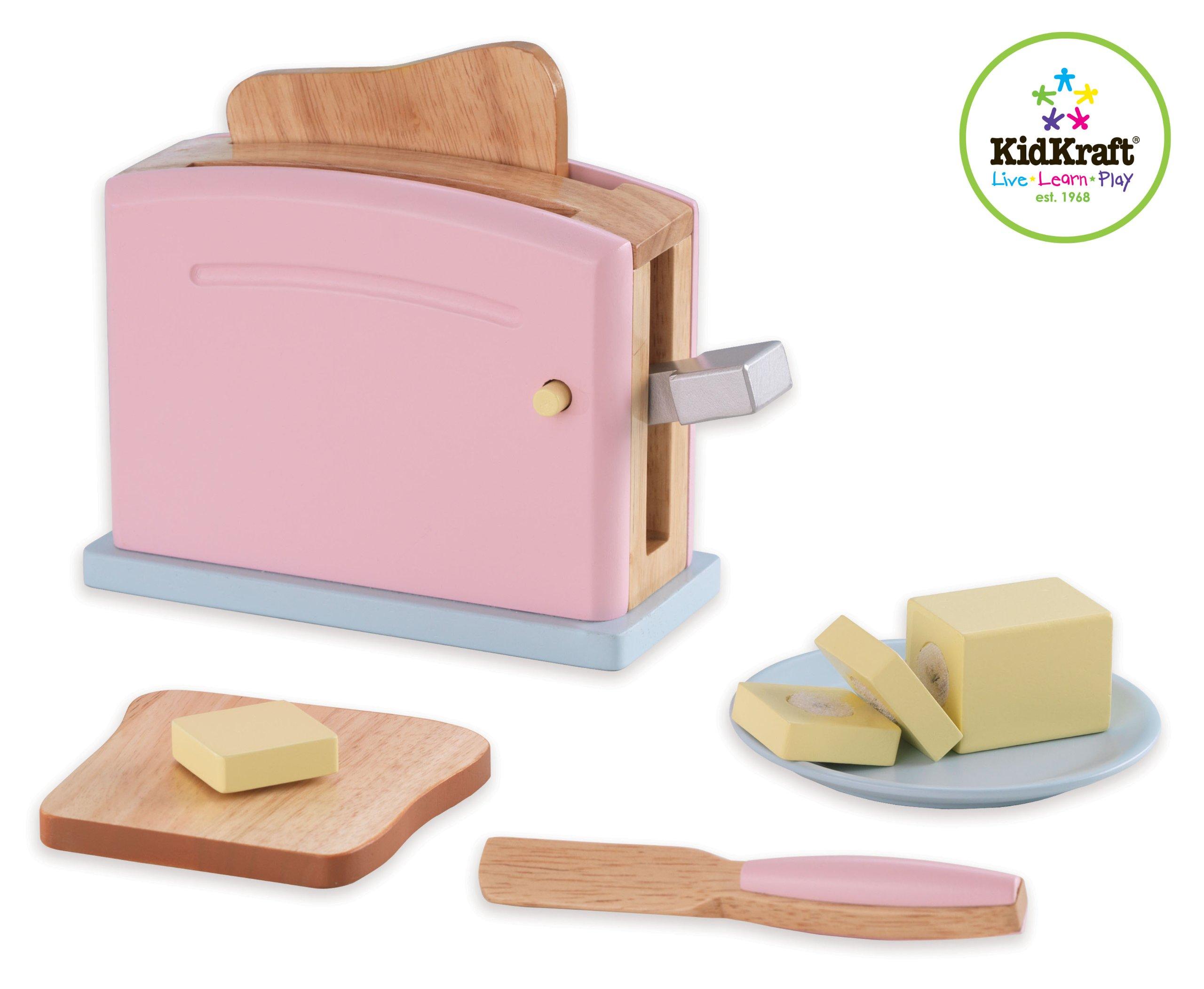 KidKraft Wooden New Toaster Set - Pastel by KidKraft (Image #3)