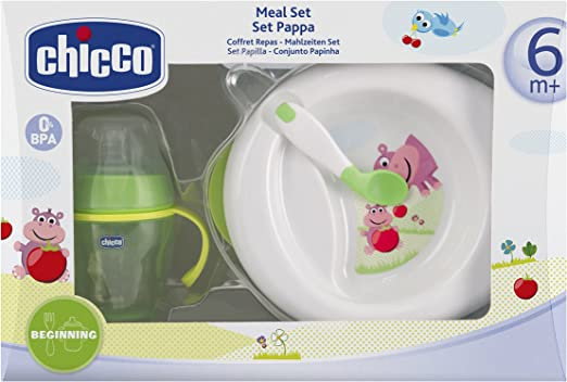 Chicco Meal Set Pappa 6m+: Amazon.es: Bebé