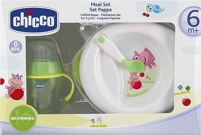 Chicco Meal Set Pappa 6m+: Amazon.es: Bebé