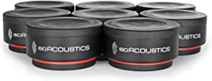 IsoAcoustics Iso-Puck Series Acoustic Isolators (Iso-Puck Mini, 6 lbs max/Unit, 8-Pack)