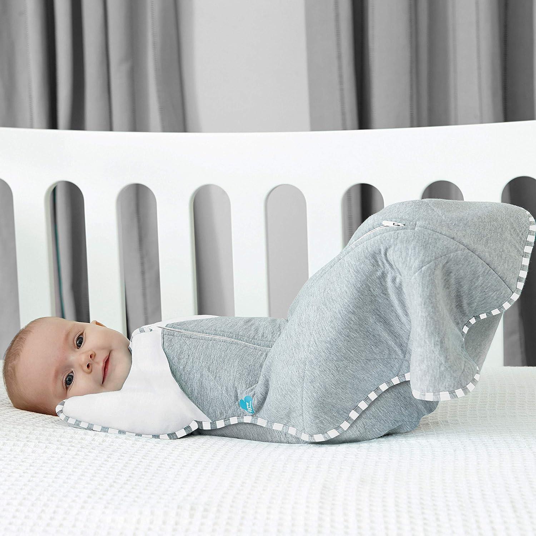 Manta acolchada para beb/é color blanco Love To Dream 2,5 Tog, tama/ño mediano, 6-8,5 kg