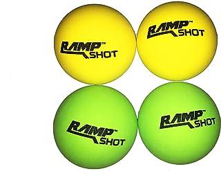 RampShot Balles de Lot de 4pièces de remplacement (2green, 2yellow) 888