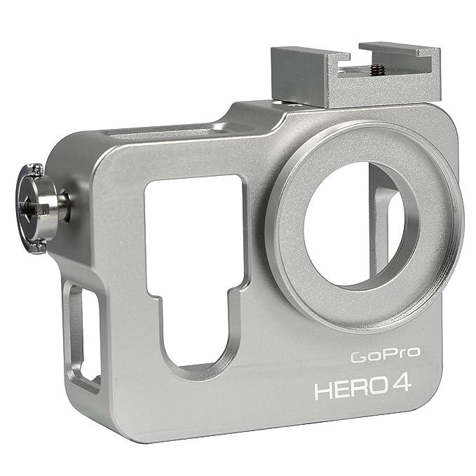 MENGS® Carcasa de Aluminio Caso para GoPro Hero 4 con Filtro ...