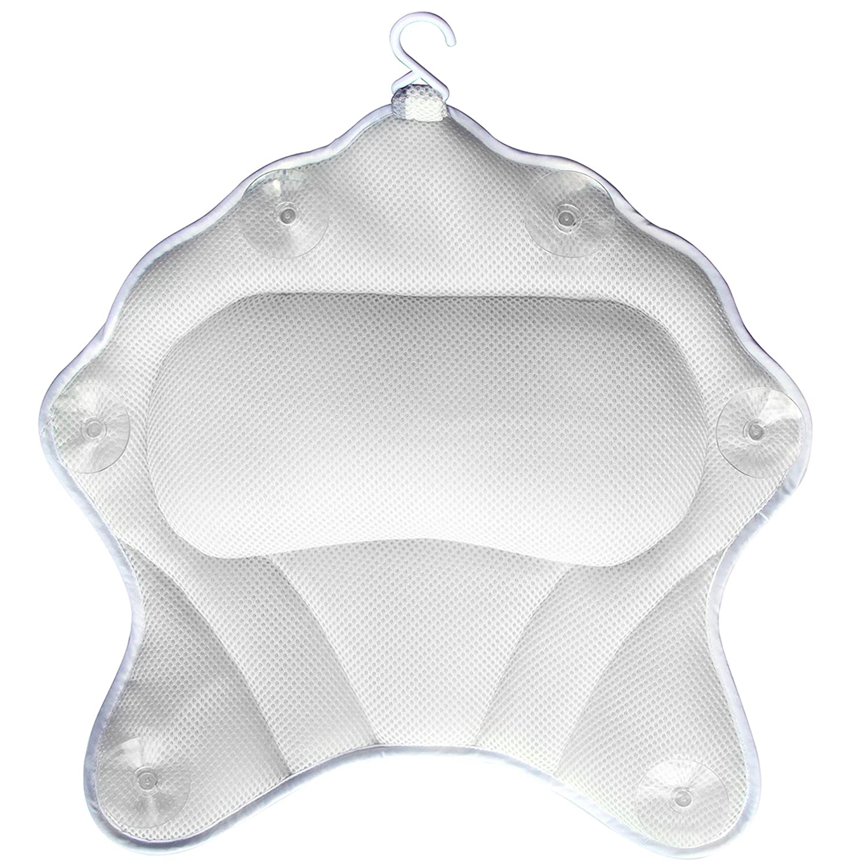 cuscino per vasca da bagno supporto ergonomico con forti ventose Cuscino per vasca da bagno Samincom lussuoso cuscino per il collo