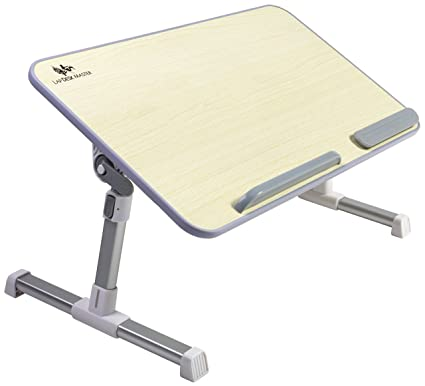 Attrayant Adjustable Laptop Table By Lap Desk Master U2013 Multifunctional Bed Tray U2013  Changeable Height U0026 Angle