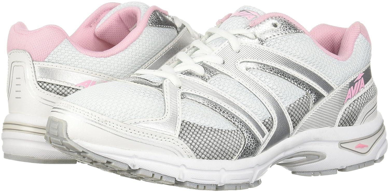 Avia B076C17MP1 Women's Avi-Execute-Ii Running Shoe B076C17MP1 Avia 10 B(M) US|White/Chrome Silver/Tickle Pink b05760