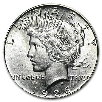 BU 1926-P Peace Dollar Brilliant Uncirculated