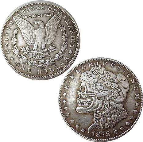 Moneta Colección Estados Unidos América Replica Dólar Morgan ...
