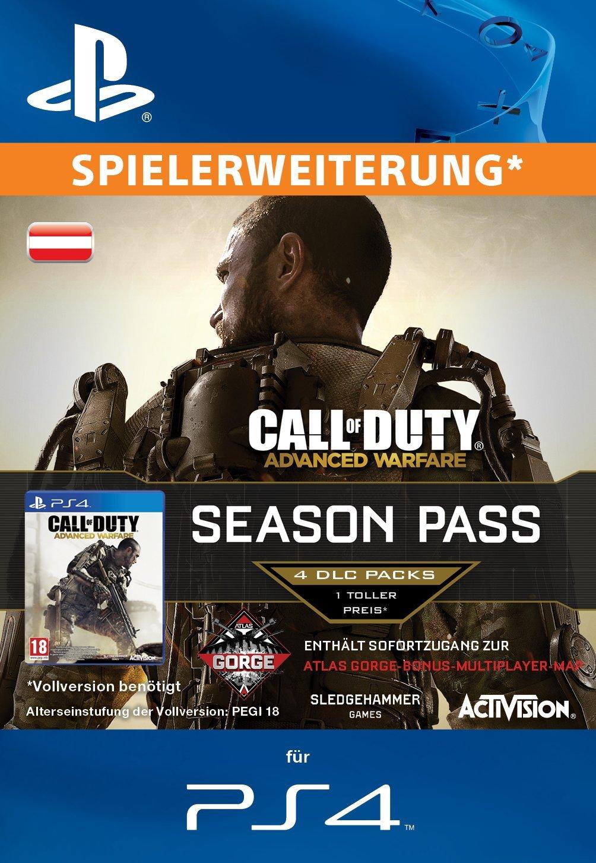 Call of Duty: Advanced Warfare - Season Pass [Spielerweiterung] [PS3 PSN Code für deutsches Konto]