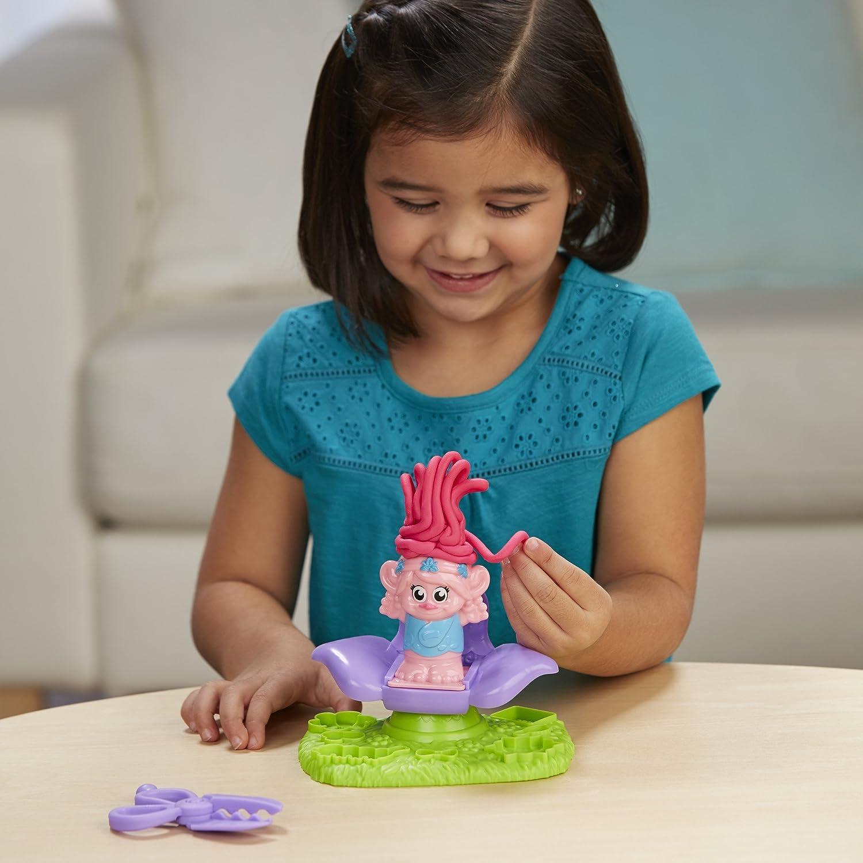 Play-Doh Dreamworks Trolls Press n Style Salon Hasbro B9027