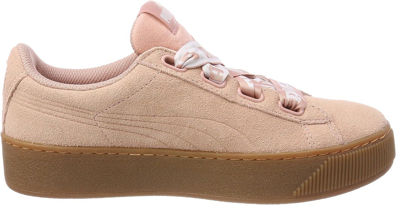 Puma Vikky Platform Ribbon Bold Damen Sneaker Schuhe 365314