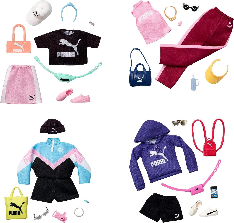 Amazon.es: Barbie Pack de Moda Puma Ropa deportiva Azul con ...