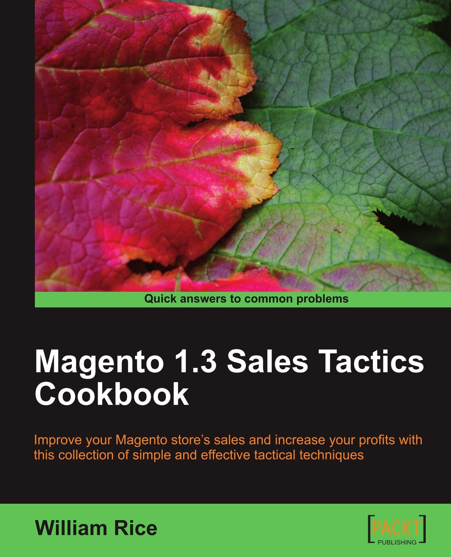Download Magento 1.3 Sales Tactics Cookbook pdf