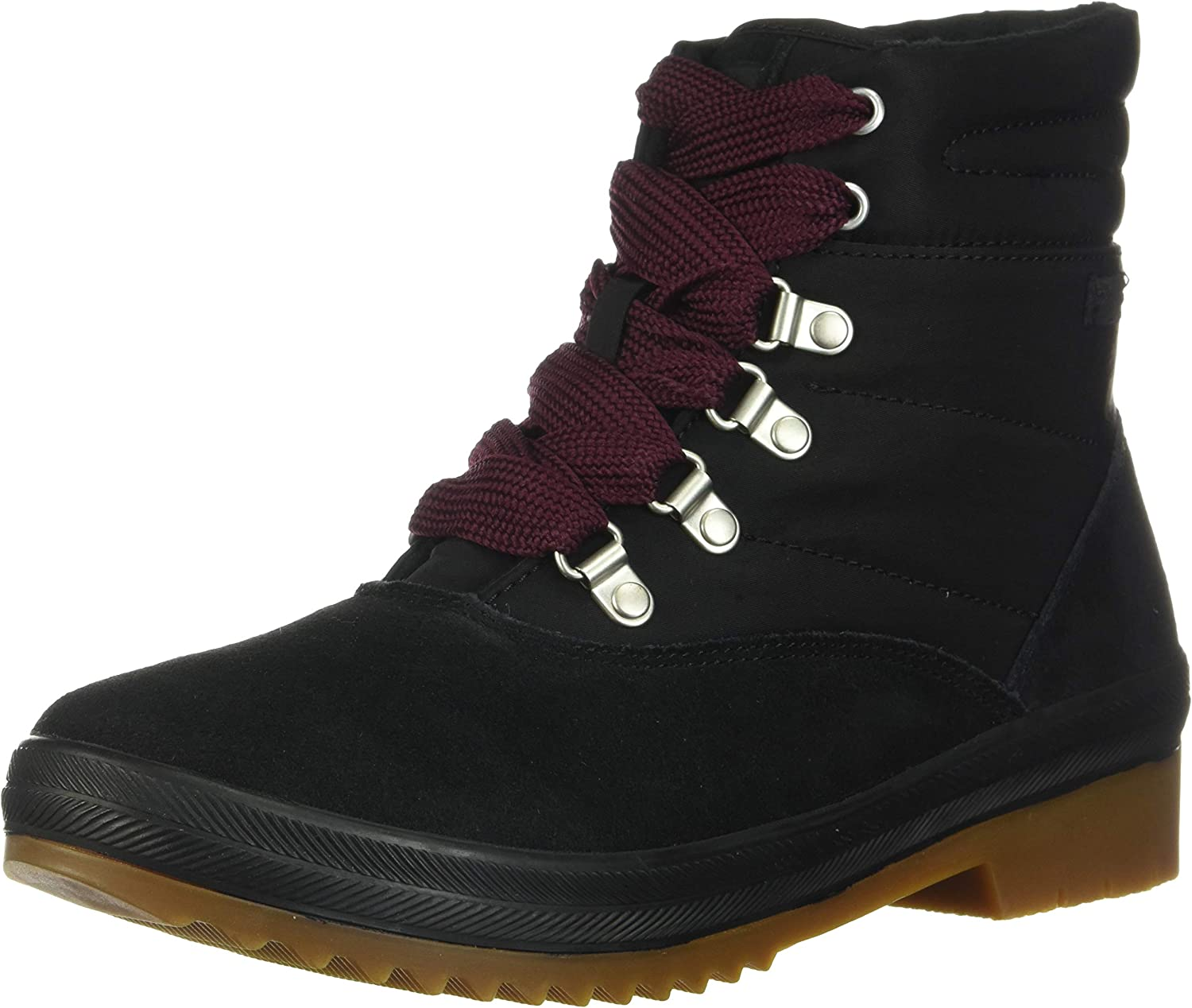 Keds Womens Camp Boot Suede + Nylon