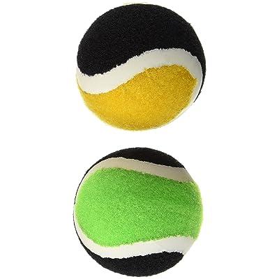 2 balles en velcro (remplacement) dans une pochette perforée de la marque Schildkröt Funsports, idéal pour tous les jeux/raquettes en velcro