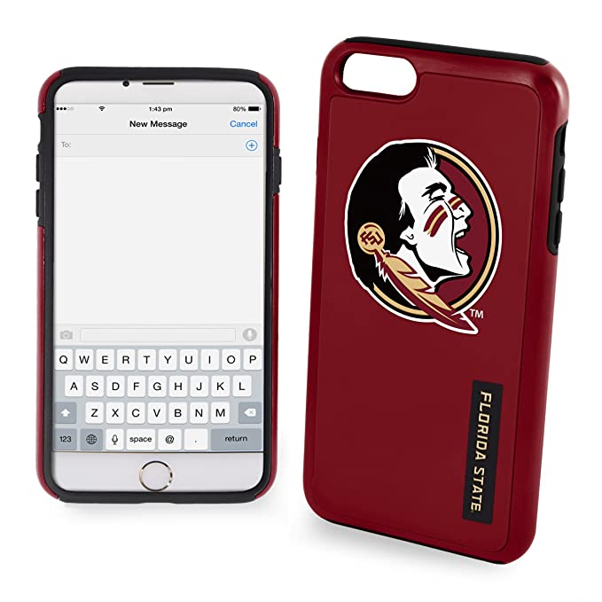 63c308d714861 Forever Collectibles iPhone 8+/7+ Dual Hybrid Impact Case - NCAA Florida  State University