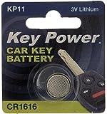 Key Power CR1616-KP Car Key Fob Lithium Battery 3 V