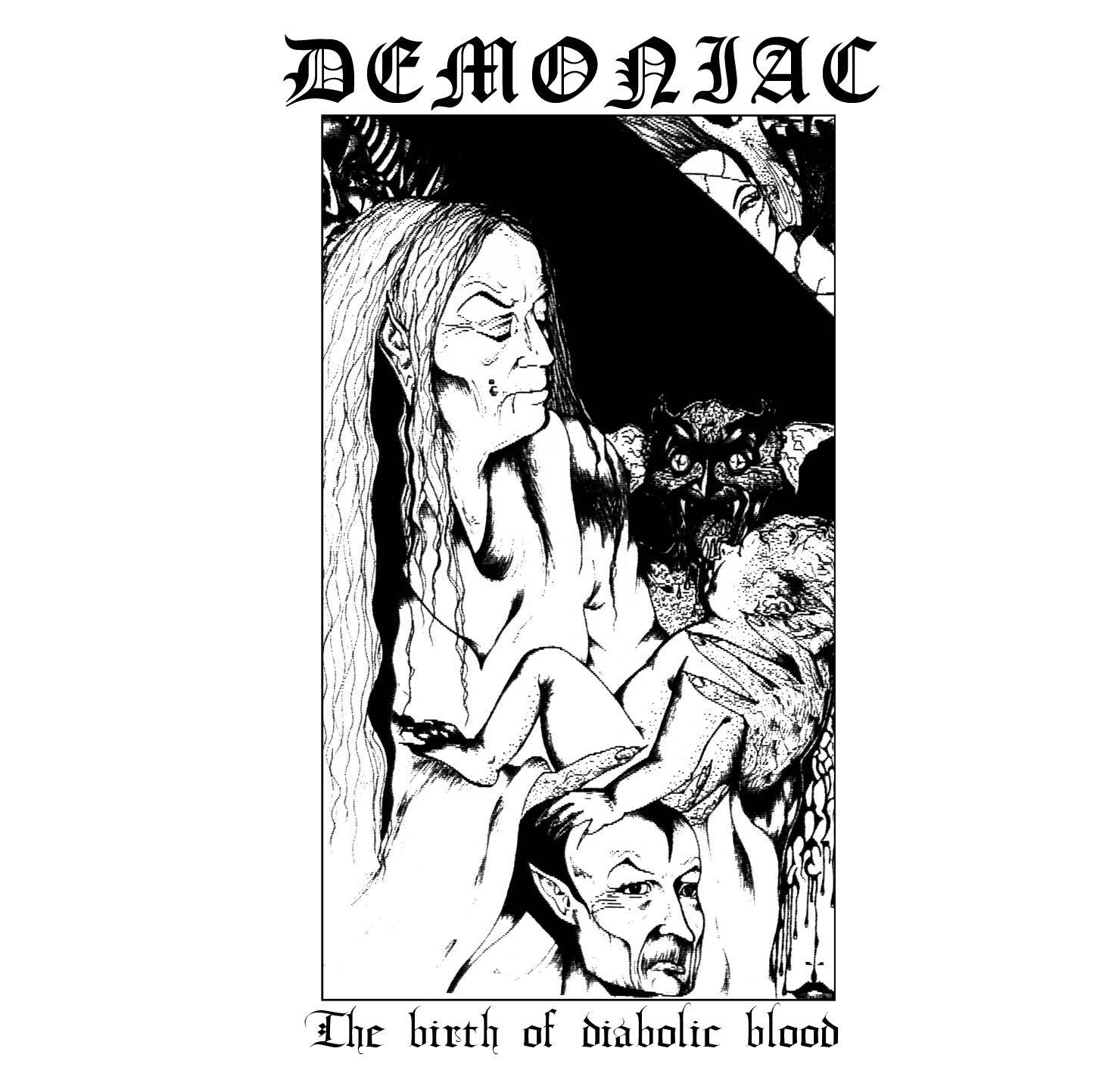 Vinilo : Demoniac - Birth Of Diabolical Blood (LP Vinyl)