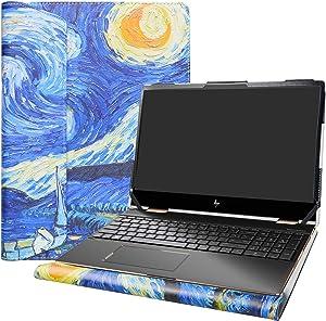 """Alapmk Protective Cover Case for 15.6"""" HP Envy x360 15 15M-dsXXXX 15M-drXXXX(15m-dr1011dx)/HP Chromebook 15 15-deXXXX Laptop[Not fit Envy X360 15 15-cnXXXX 15-cpXXXX 15-apXXX 15-bpXXX],Starry Night"""