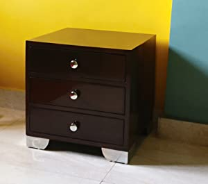 Mubell Modern Wood Bedside Table