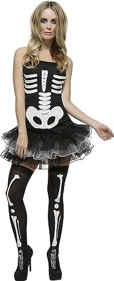 df264101f21 Amazon.com  Fever Smiffy s Women s Sexy Skeleton Costume  Fever ...