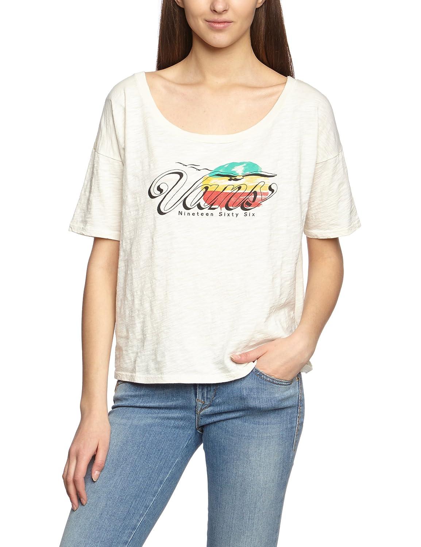 48dd6acb32b227 Amazon.com  Vans Womens Spirit Graphic T-Shirt 144 M  Clothing