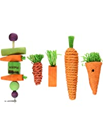 Kaytee Chew & Treat Toy Assortment for Rabbits (5 Pack) - 100524756