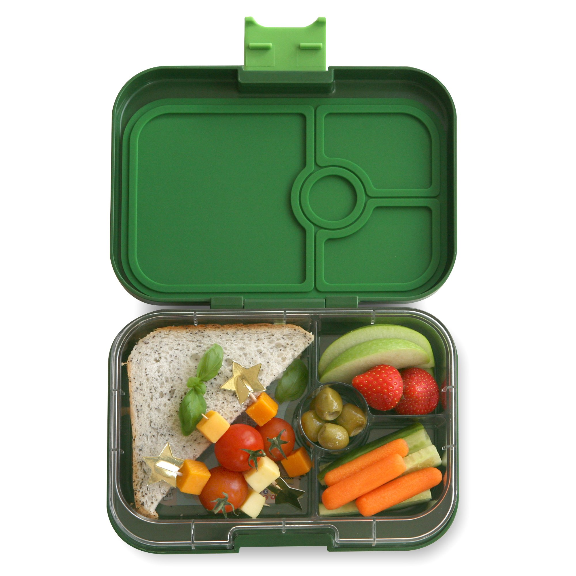 YUMBOX Panino (Brooklyn Green) Leakproof Bento Lunch Box Container for Kids & Adults