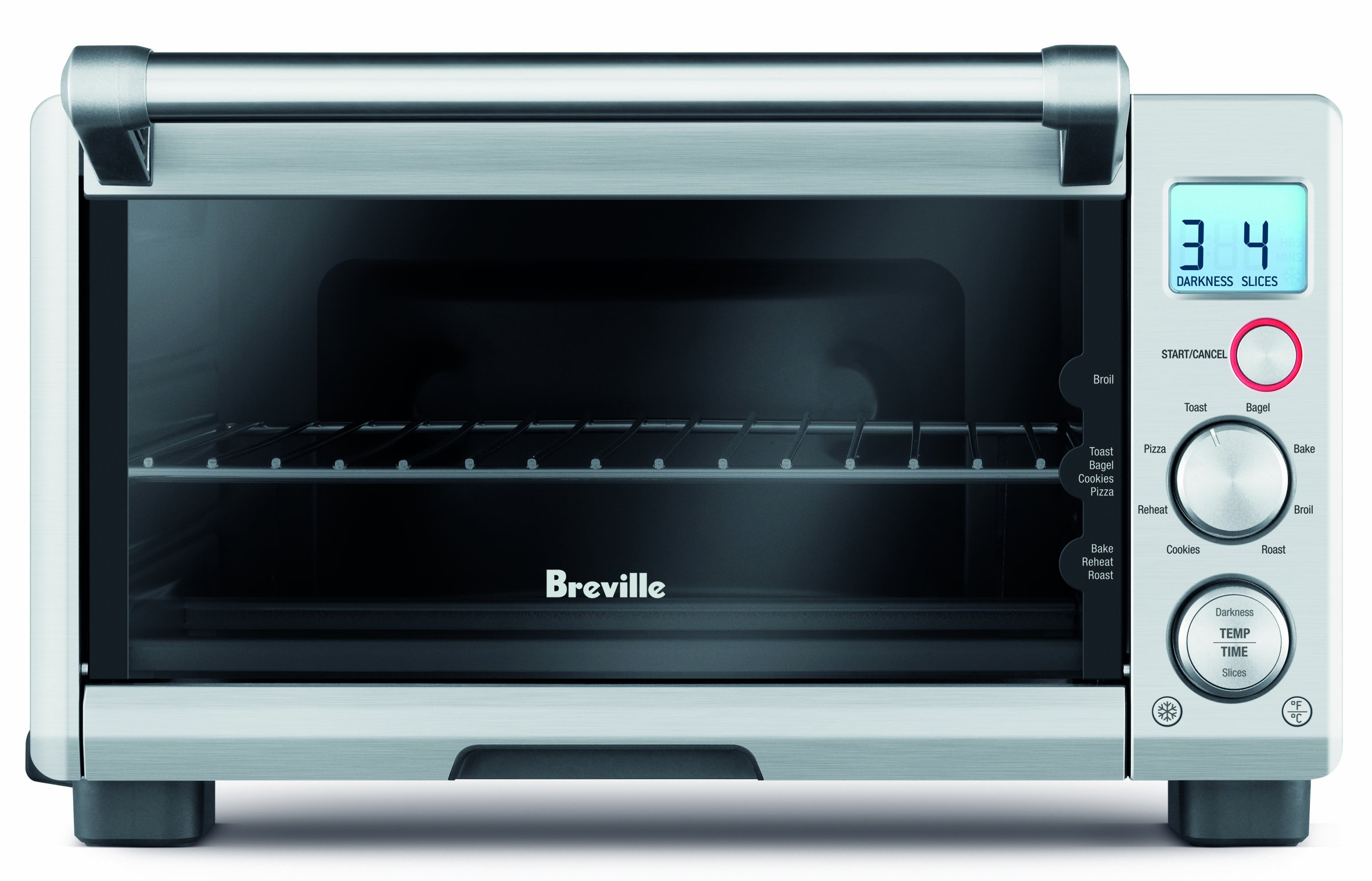 Breville RM-BOV650XL Compact 4-Slice Smart Oven with Element IQ (Certified Refurbished)