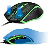 ROSEWILL Gaming Mouse with RGB LED Lighting, Wired