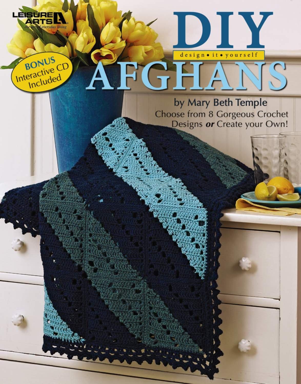 Read Online DIY Design It Yourself Afghans with a BONUS CD  (Leisure Arts #4750) pdf epub