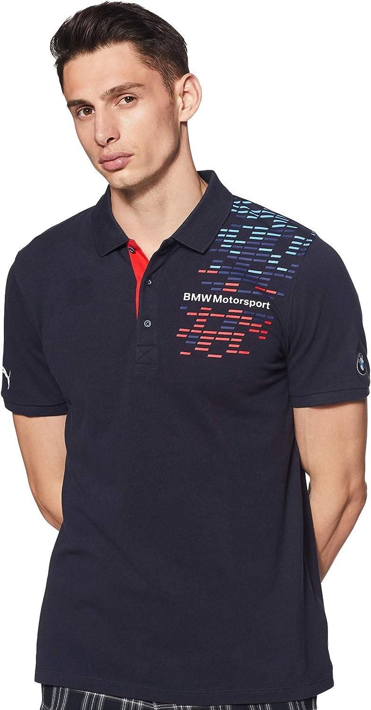 Puma BMW MSP gráfico Equipo Polo Camisa Top 761994 Equipo Azul F1 de los Hombres XS: Amazon.es: Deportes y aire libre