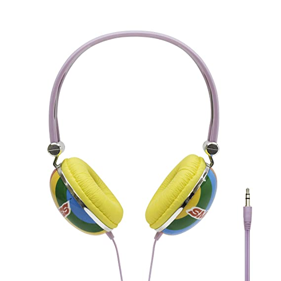 1bc5427fac1 Image Unavailable. Image not available for. Color: iHip Smarties Candies  Comfort Fit Headphones ...