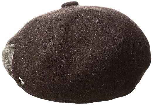 f87aeb52b17 New Era Cap Men s Ek Brown Fabric Mix 7panel Driver Hat at Amazon Men s  Clothing store