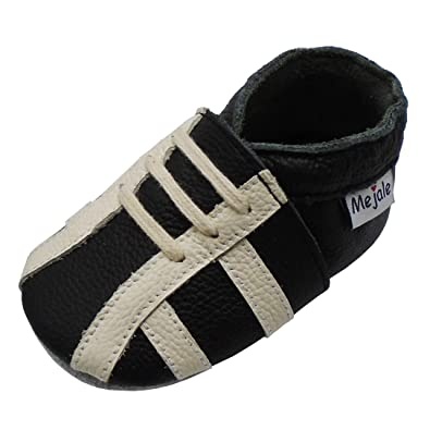 30368a3dbb804 Mejale Baby Shoes Premium Soft Sole Leather Moccasins First Walkers ...