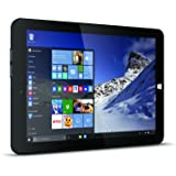 Linx 1010 10.1-Inch Tablet - Black (Intel Atom Z3735F 1.33 GHz, 2 GB RAM, 32 GB Storage, WLAN, Bluetooth, Camera, Windows 10)