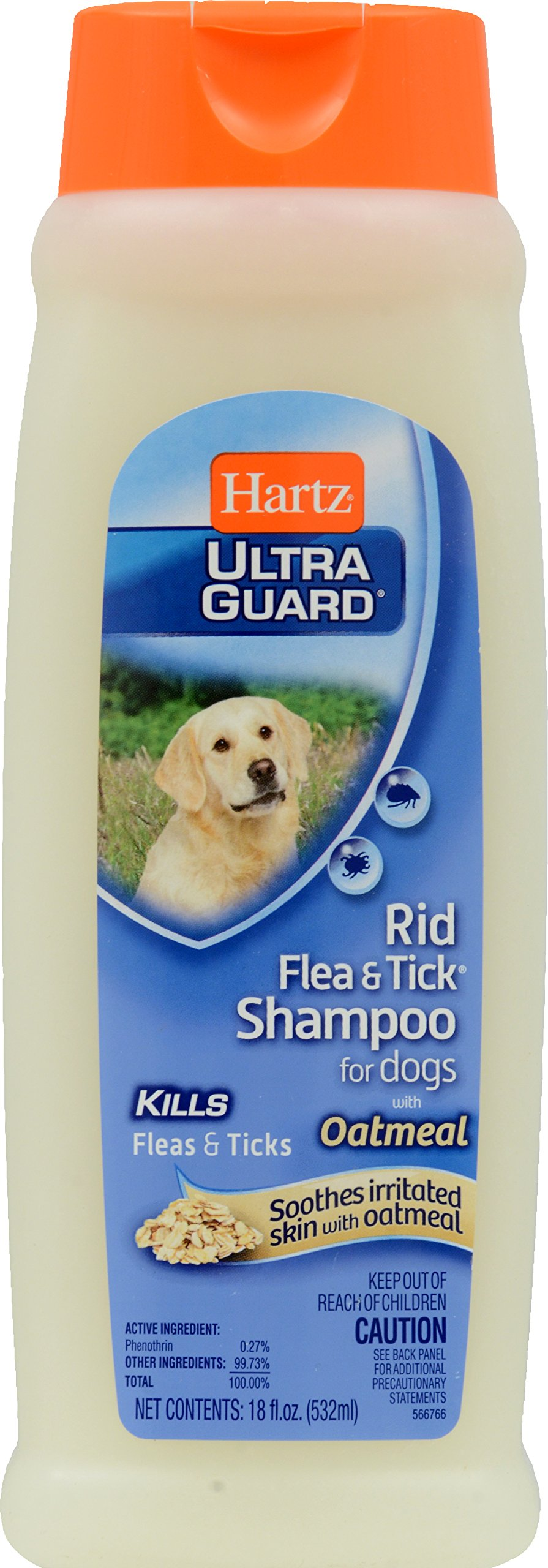 Ultra Guard Rid Flea and Tick Shampoo for Dogs
