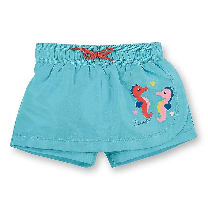 Sterntaler Falda de pantalón de baño con pañal para niña: Amazon ...