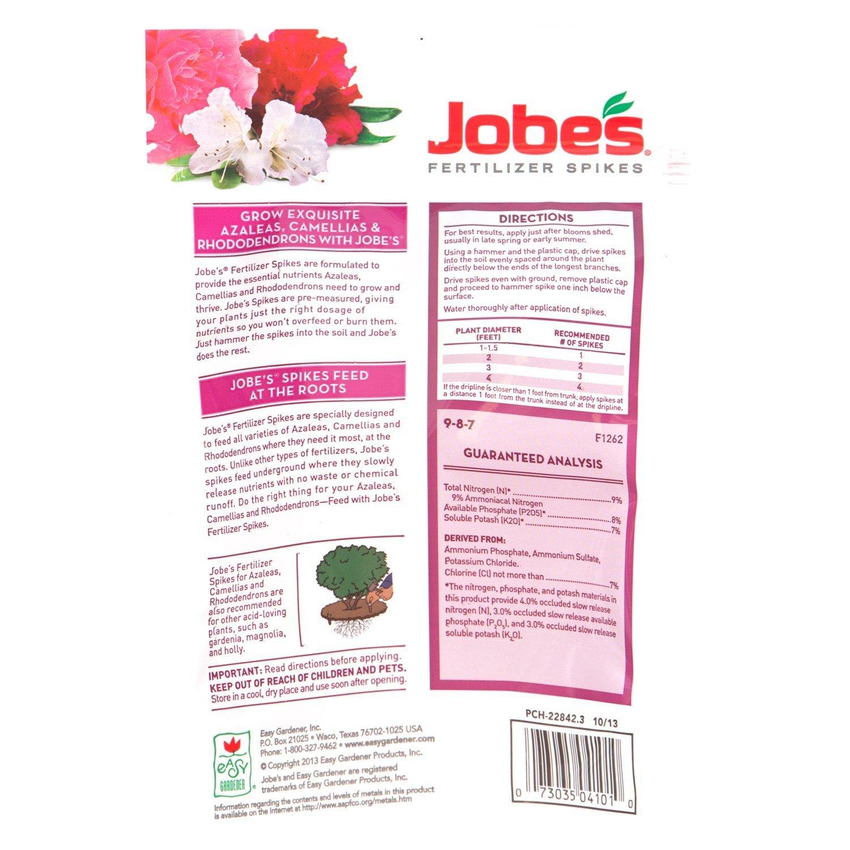 Merveilleux Amazon.com : Jobeu0027s Fertilizer Spikes For Azalea, Camellia And  Rhododendron, 9 8